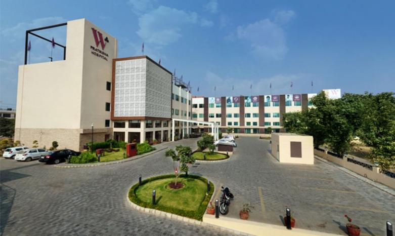 W Pratiksha hospital building